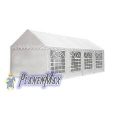 Ersatzdach Dachplane 4x8 m Dach für Partyzelt Pavillon Zelt weiß PVC