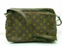 Auth LOUIS VUITTON Monogram Mig La Tour No.201 Shoulder Bag PVC Leather 82516