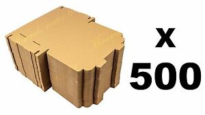 500 x large letters boxes  PIP C5/ A5 DVD, CD Pricing in proportion 223x159x22mm