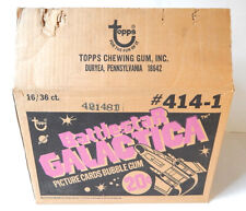 1978 Topps Battlestar Galactica Trading Card Empty Wax Box Case #414-1