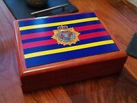 Royal Logistics Corp RLC Premium Military Medals and Memorabilia Box, Great Gift