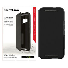 Tech21 Evo Wallet Impact New Ultra Slim Protection Case For HTC One M9 - Black