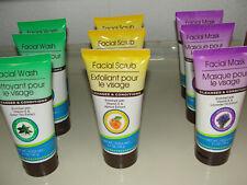9 tubes - Facial Scrub, Wash, and Mask, 5.1-oz. Tubes ( 3-in-1) tubes 9 tubes