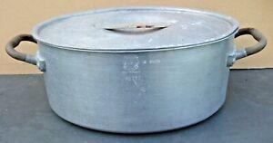 Vintage Aluminium Steamer/Fish Kettle/Poacher. 12 Pints.