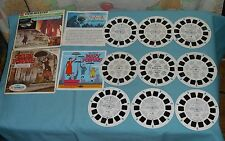 Disney VIEW-MASTER REELS lot x3 Mary Poppins, One of Our Dinosaurs is Missing ++
