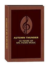 AUTUMN THUNDER: 40 YEARS NFL FILMS MUSIC - 10 CD Box Set NEW Sam Spence Football