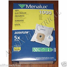AEG 5000 Series Duraflow Compatible Synthetic Vacuum Cleaner Bags Part # 1000