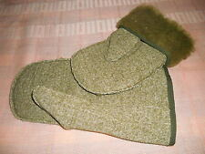 Mittens super-warm wool pile liner mittens British Army brand new medium-small