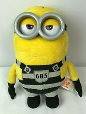Despicable Me 3 Jail Time Tom Deluxe Talking Minions Plush Minion Stuffed Animal