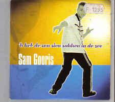 Sam Gooris-Ik Heb De Zon Zien Zakken In De Zee cd single