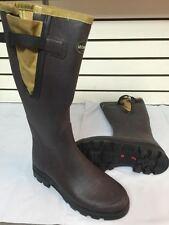 Le Chameau Vierzon Filson Tin Cloth Rubber Boots - Mens Size 9 Med WP  MSRP $235