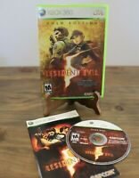 Resident Evil 5 -- Gold Edition (Microsoft Xbox 360, 2010) CIB complete