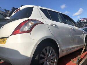 2012 Suzuki Swift Drivers Front Door Handle In White  Breaking Full Car