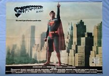 """SUPERMAN 2 (1980) original Argentinian movie poster 40""""x54"""" - Christopher Reeves"""