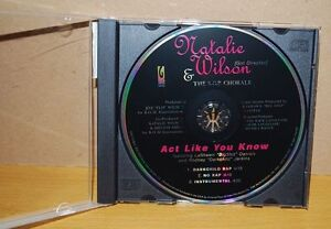 Natalie Wilson & The S.O.P. Chorale ‎– Act Like You Know (Promo CD) 2000 / RJ