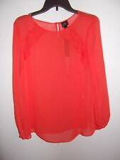 WORTHINGTON - WOMEN - TOP - FIERY RED - SIZE LARGE    (AC-26-273x4)