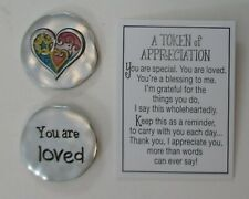 New Listingzzbb You are loved heart Tokens Of Appreciation Pocket token Ganz