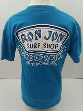 "Mens Small Ron Jon Surf Shop Cocoa Beach Fla. ""One Of A Kind"" Blue T-Shirt)B2"