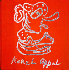 Karel Appel (The Face of Appel) – cloth bound book – 1977