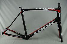 NEW XLarge 57cm Look 765 Endurance Road Bike Carbon Frame Frameset Black Red