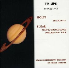 Holst / Elgar / Marr - Holst: Planets / Elgar: Pomp & Circumstance 1 & 4 [New CD