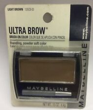 Maybelline Ultra Brow Brush-On Color ( Light Brown ) New Original Formula Carded