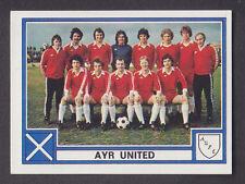 Panini - Football 78 - # 457 Ayr United Team Group