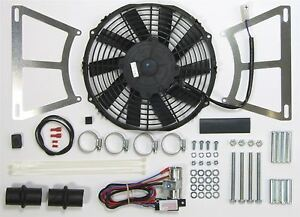 Revotec Electronic Cooling Fan Conversion Kit MGB 1962-76 Negative Earth