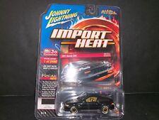 Johnny Lightning Honda CRX 1991 Rising Sun Black JLCP7169 1/64 2400 PCS