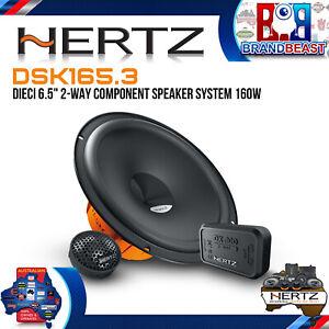 """Hertz DSK165.3 DIECI 6.5"""" 2-Way Component Speaker System 160w"""