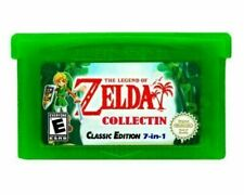 GBA Game Zelda Collection Minish Cap 4 Swords Ages Seasons Awakening DX 7in1 New
