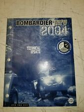 2004 Bombardier Atv Factory Technical Update Manual 219700311