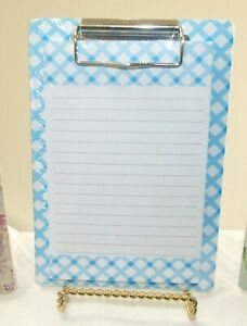 """Magnetic Clip Board Memo Pad 4.75"""" x 6.75"""" - Pick your Style - NEW"""