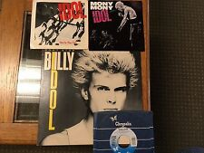 "Billy Idol x 4 Don't Stop 12"" +  7"" To Be A Lover, Hot In The City, Mony Mony"