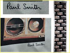 PAUL SMITH Scarf Man 100% Silk Made In Italy Boutique 230€, Here Less¡¡ PS35 L-0