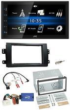 JVC USB 2DIN Bluetooth MP3 Lenkrad Autoradio für Fiat Sedici Suzuki SX4