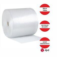 Luftpolsterfolie Noppenfolie Verpackungsmaterial Polsterfolie 50cm 100m transpar