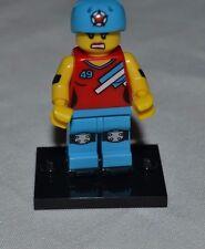 LEGO 71000 ROLLER DERBY GIRL MINIFIGURE # 8 SERIES 9 VHTF !!