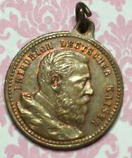 Vintage Friedrich Deutscher Kaiser Commemorative Coin Medal Token-Estate