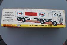 Dinky 945 AEC FUEL TANKER ESSO emballées dans près de excellent état