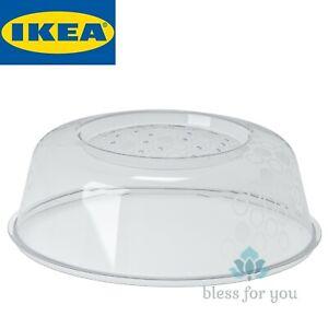 "IKEA PRICKIG Microwave Splatter Lid Cover 10"" Dishwasher-safe Recyclable"