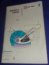 BS698 Bombardier Ski-Doo 1989 Tundra LT Safari Citation E Operators Manual