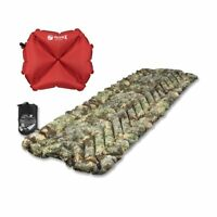 New Klymit Insulated Static V Inflatable Sleeping Pad Air