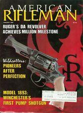 1985 American Rifleman Magazine: Ruger's Da Revolver Achieves Million Milestone