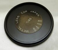 Hoya Metal screw in type lens cap for filter stacking 55mm  (male threads)