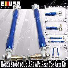 Rear Toe Arm Kit Adj.fit 00-09 Honda S2000  S2K Ap1 Ap2 BLUE