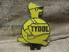 Vintage Embossed Tydol Gasoline Tag Sign > Antique Gas Oil Station Auto 9322