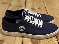 Timberland Union Wharf Oxford Herren Turnschuhe Sneaker Marineblau Gr.41