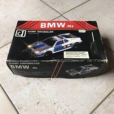 Vintage Radio Controled BMW M1  RC