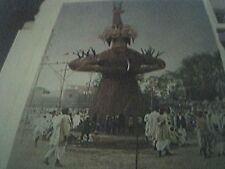 magazine picture 1953 - ram lilla cawnpore - ravan demon king of ceylon